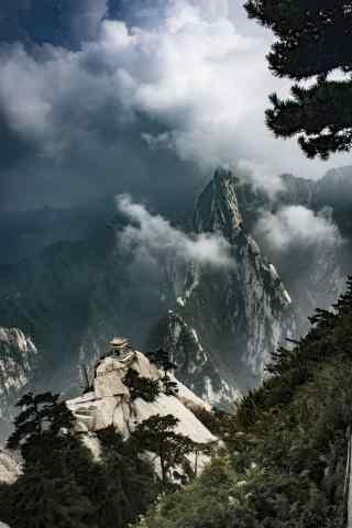 华山唯美风景手机壁纸