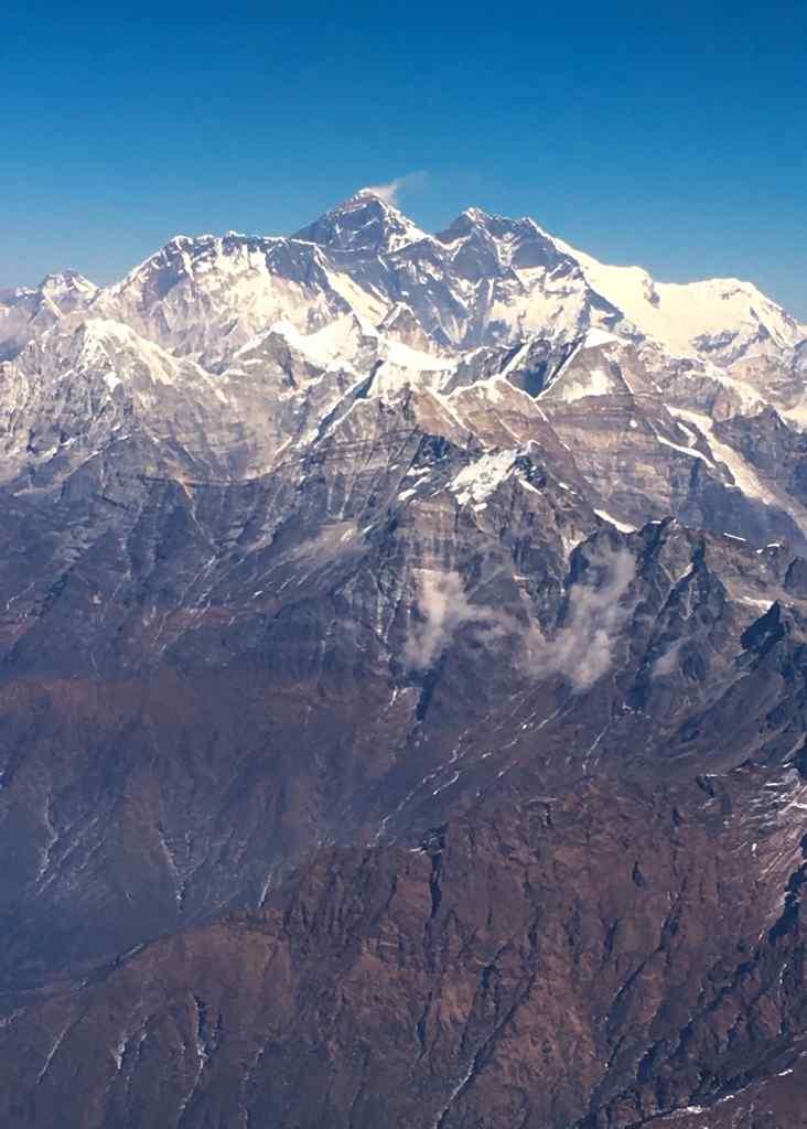 珠穆朗玛峰摄影手机壁纸