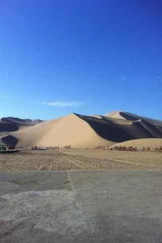 写实的沙漠手机风景壁纸