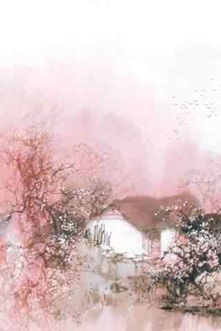 唯美的风景水墨画手机壁纸