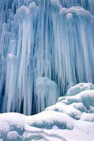 好看的北极冰川手机风景壁纸