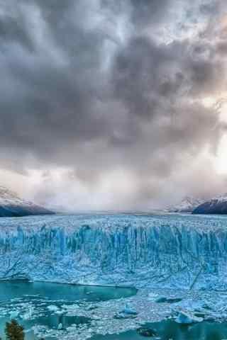 北极冰川图片手机壁纸