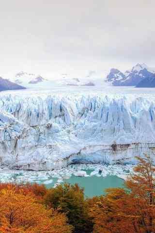 好看的北极冰山手机风景壁纸