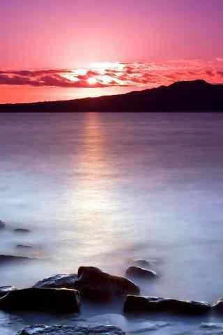 美丽太阳海边超好