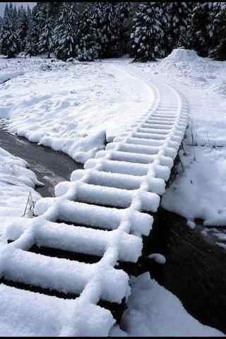 唯美雪景高清图片