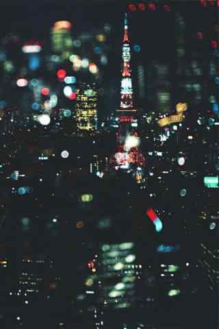 唯美城市夜景手机