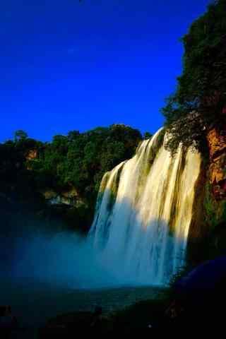 黄果树瀑布风景图片手机壁纸