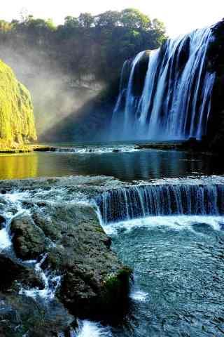 秀美的黄果树瀑布
