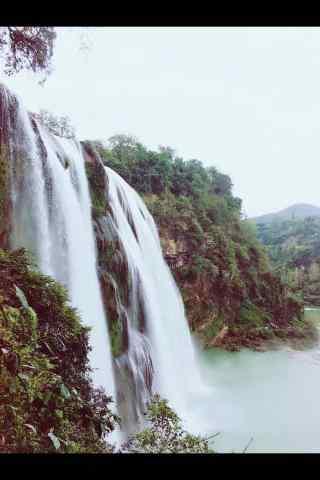 壮观的黄果树瀑布