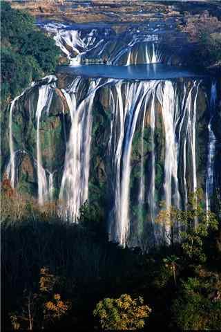 唯美的黄果树瀑布风景壁纸