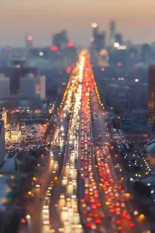 城市夜景唯美手机壁纸