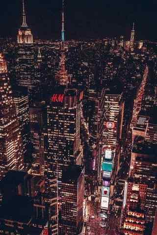 好看的城市夜景手机壁纸