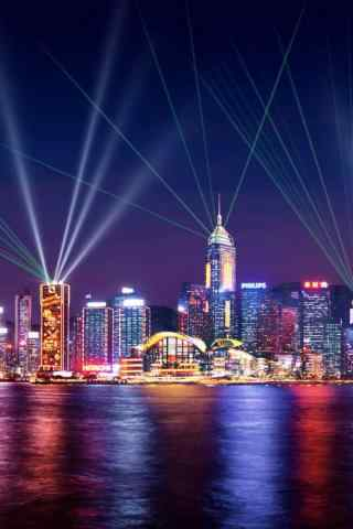 城市夜景手机图片