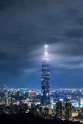 城市夜景高清手机壁纸
