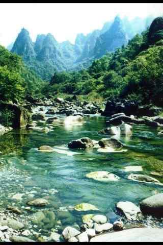 樱桃河谷风景手机壁纸