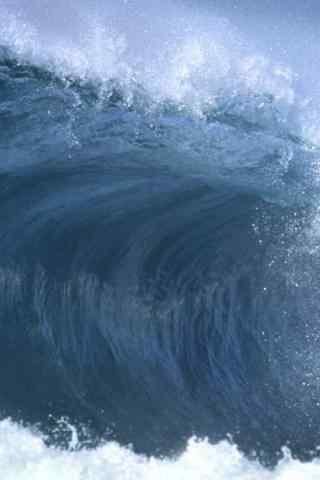壮阔的海浪手机壁纸