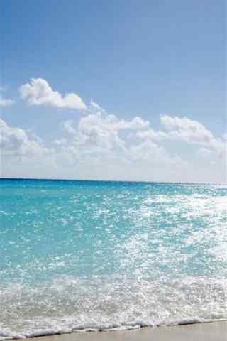 小清新海浪风景手机壁纸