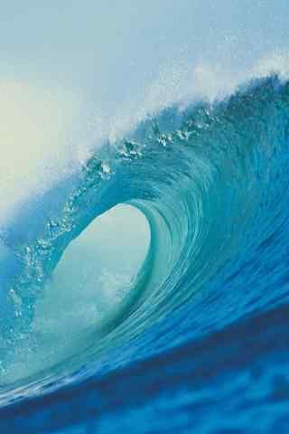 壮阔的海浪图片手机壁纸