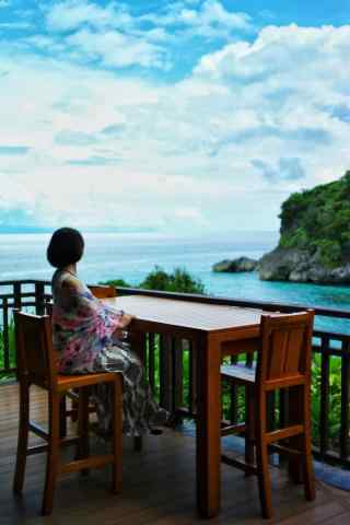 菲律宾长滩岛小清新风光手机壁纸