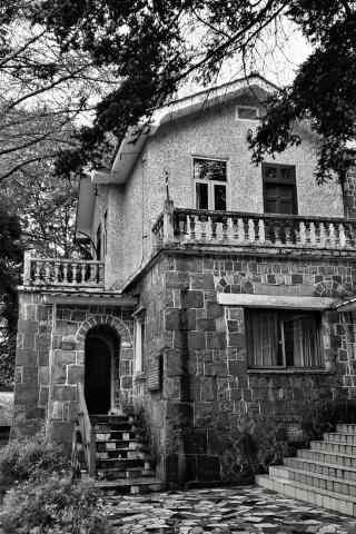 唯美复古的老房子