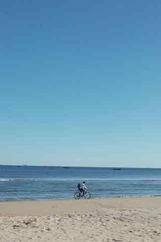 小清新的北戴河海