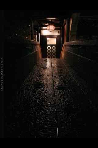 静谧的乌镇夜景手机壁纸