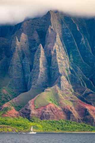 美丽清新的夏威夷风景手机壁纸