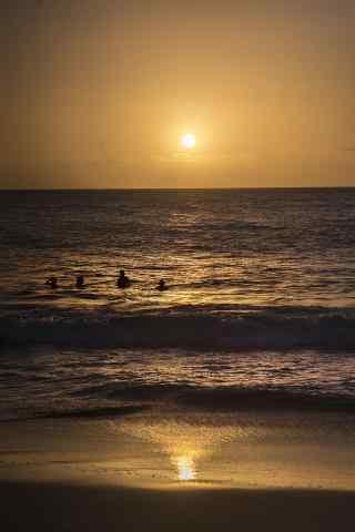 美丽的夏威夷海边风景手机壁纸