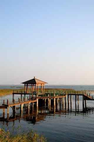 唯美的苏州太湖风景手机壁纸