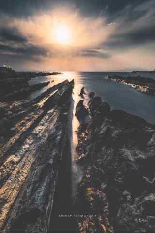 阳光下的唯美风景手机壁纸