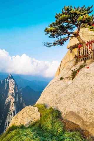 小清新华山风景手机壁纸