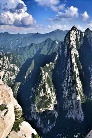 华山清新风景手机壁纸