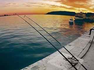 码头风景手机壁纸