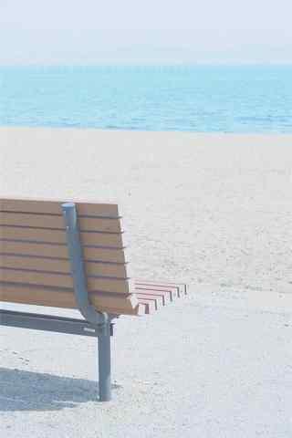 清新夏日海邊風景手機壁紙