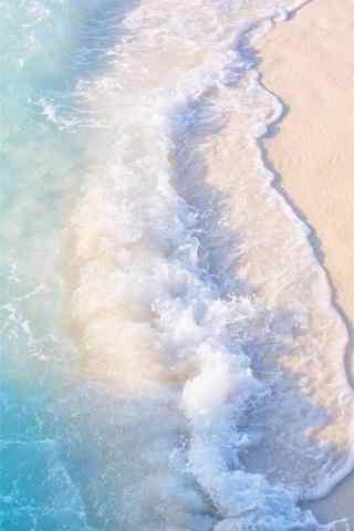夏日清凉海边手机壁纸