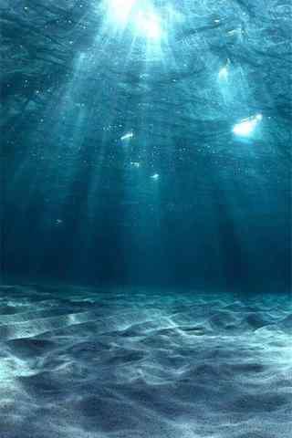 夏日清凉海洋深处手机壁纸