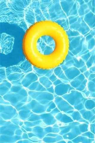 夏日清凉的海水手机壁纸