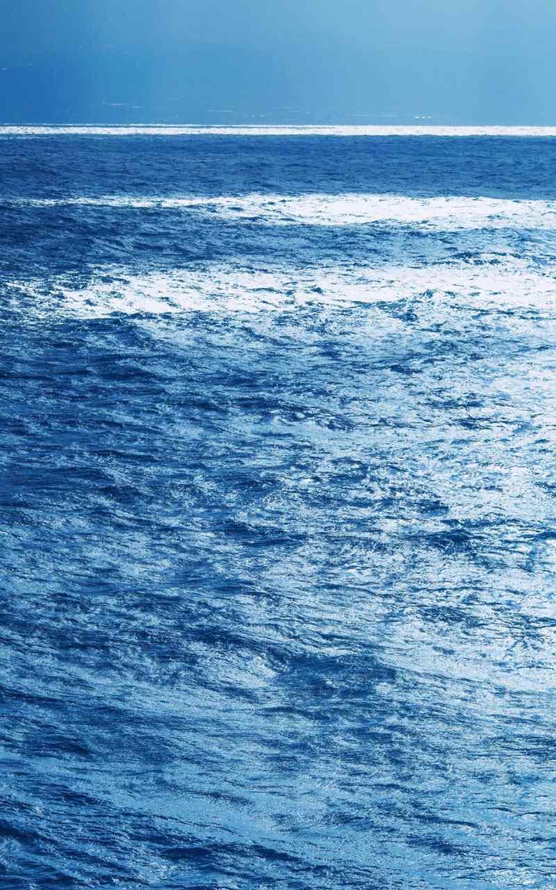 蓝色风暴超清海洋手机壁纸
