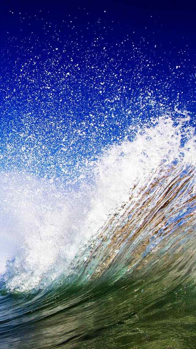 海浪特写海洋手机壁纸