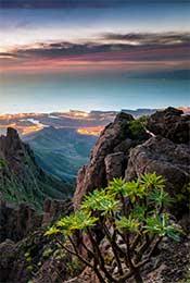 高山唯美自然风景