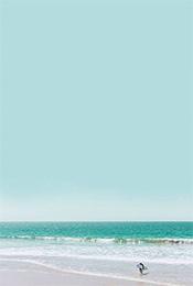 沙滩海浪高清唯美