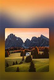 高山草原唯美自然风景手机壁纸