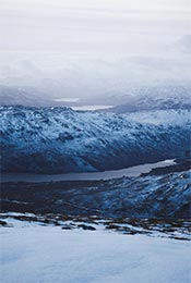 唯美雪山雪景高清自然风景手机壁纸