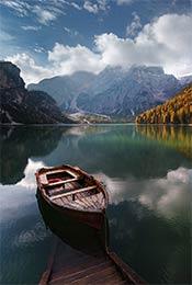 唯美湖泊自然风景手机壁纸