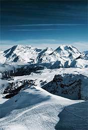 阿尔卑斯雪山唯美自然风景手机壁纸