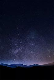 唯美星空夜景高清手机壁纸