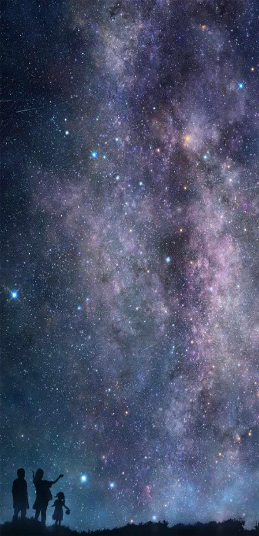 唯美星空高清手机壁纸图片
