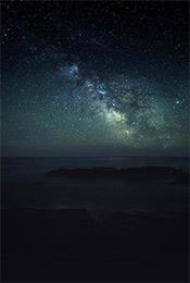 清新自然风景高清星空手机壁纸