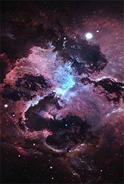 宇宙星云梦幻唯美高清星空手机壁纸