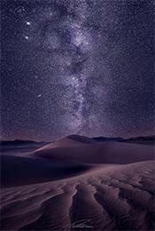 戈壁沙漠高清星空
